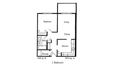 1Bedroom-floor-plan