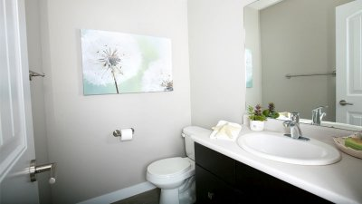 Half-bath-interior
